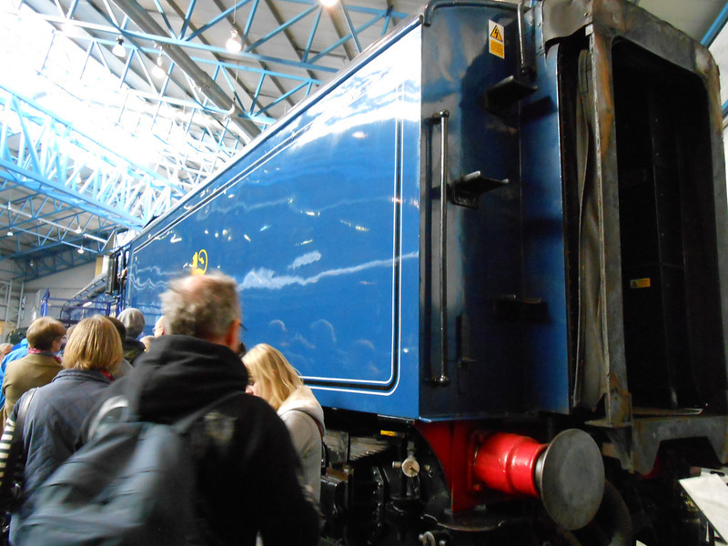 Back end of Sir Nigel Gresley