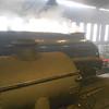 Raising steam at Grosmont MPD 08.30am