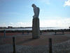 One of many massive Bird sculptures along the Prom at Morecambe