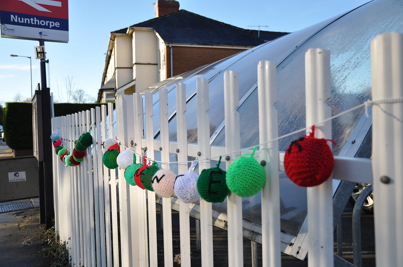 Yarn Bombing Nunthorpe pic 1 of 3