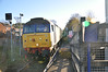 47 818 <br /> <br /> returns back from Nunthorpe heading into Gypsy Lane on the way back to Carlisle