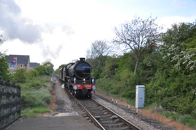 pic 1 of 8 May 3rd B1 1264 returns from Carlisle to Grosmont