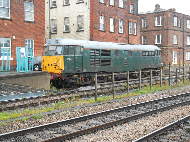 16th may 2017 <br /> <br /> 31 452 <br /> <br /> sits in bay at Derby