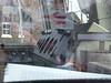 Shot through Cab window of 66416