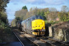 37 419 eases up the hill towards plat 2 at Nunthorpe