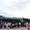 Flying Scotsman <br /> <br /> Backing in after doing train rides and went on display