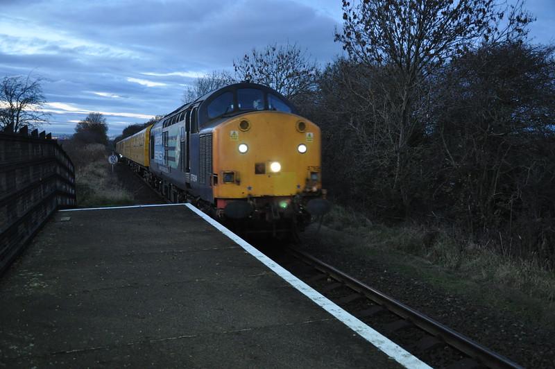 26th Nov 2015 Heaton - Neville Hill via Whitby Test Train: 1 of 6 pics