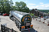 Shot of water tanker lorry that arrived to water the <br /> <br /> LMS Stanier 8F 48151<br /> <br /> when it arrives on the Fellsman tour
