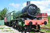 """close up of <br /> <br /> GWR Hall 4979 Wootton Hall <br /> <br /> for more info on this loco see this link below <br /> <br /> <a href=""""http://en.wikipedia.org/wiki/GWR_4900_Class_4979_Wootton_Hall"""">http://en.wikipedia.org/wiki/GWR_4900_Class_4979_Wootton_Hall</a>"""