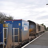 66 421 <br /> <br /> And Generator van ease through the platform at Gypsy Lane <br /> <br /> heading for Nunthorpe