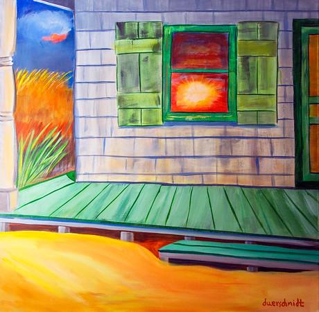 Sunrise Lit Cottage