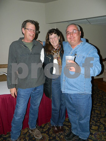 left to right: Bob Blasey, Kimalyn Keleher, Steve Muller