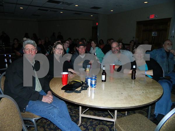 left to right: Scott Allen, Terri Stiles, Cole Stiles, Craig Groover, Terri Groover