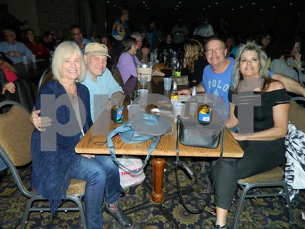 left to right: Chris Brauer, Bob Racine, Montgomery Have, Linda Have