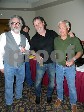 left to right: Hens, Tim Oleary, Pat Harbermann