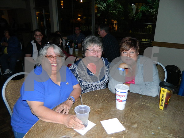 left to right: Carolyn Jones, Annette Thiessen, Mona Bode.