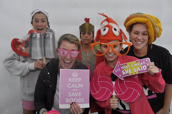 Liz's Day ( breast Cancer Awarness) - inflatable booth