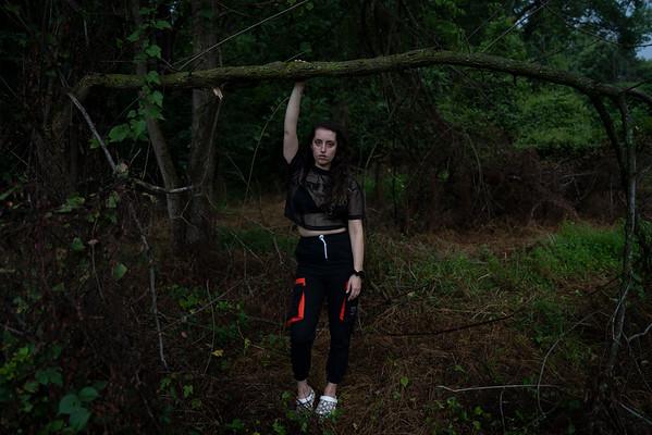 Lizzie at Rock Creek Field