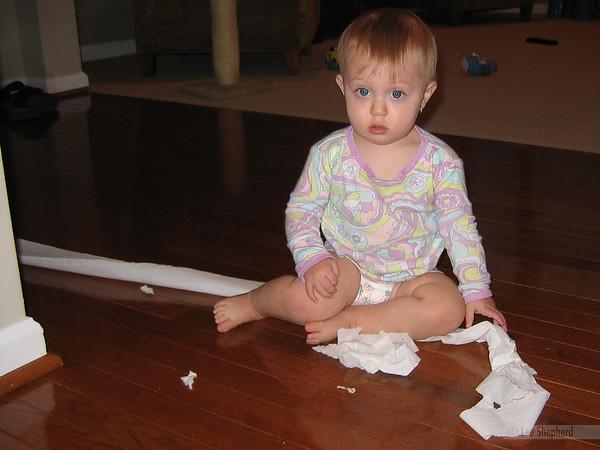 Oops, uh, Hi mom.  I was just um, never mind, you caught me.
