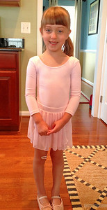 First Day of Ballet Camp July 2013