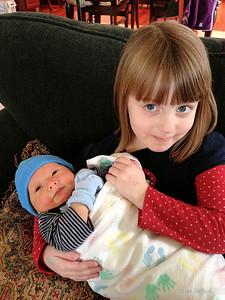 Lizzie and Landon