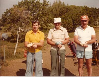 Kanarí 1975/76. Fv.: Ásgeir Nikulásson, Helgi Björgvinsson, Gunnar Þorleifsson.