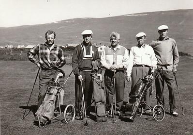 Íslandsmót á Akureyri 1958.