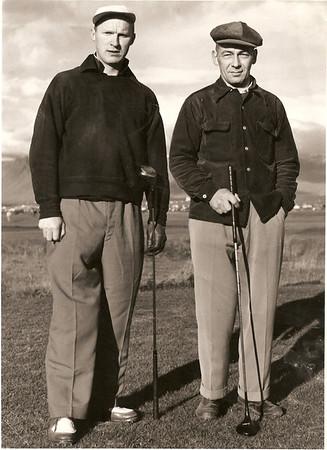 Öskjuhlíðarvöllur 1950.