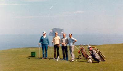 Golf í Skotlandi