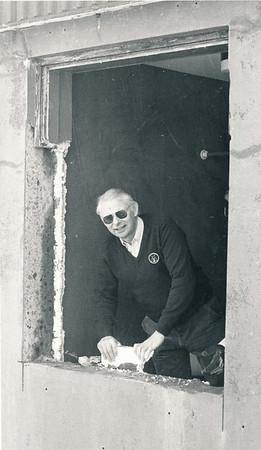Endurbætur á klúbbhúsi 1983