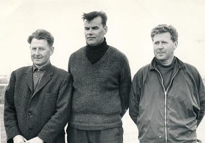 Frá vinstri Tómas Árnason, Ragnar Jónsson, Þorvarður Árnason.