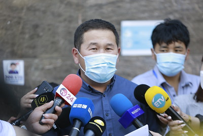 2021 оны зургадугаар сарын 21.Монголын Үндэсний Морин уралдаан уяачдын холбооноос мэдээлэл хийлээ. ГЭРЭЛ ЗУРГИЙГ Г.САНЖААНОРОВ/MPA