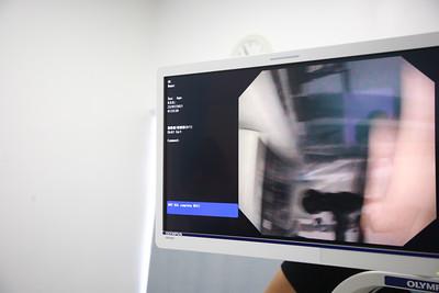 """2021 оны долдугаар сарын 22. Улсын Нэгдүгээр Төв Эмнэлэгт """"Ходоод болон уушгины дурангийн эхо"""" оношилгооны шинэ тоног төхөөрөмжийн нээлтийн үйл ажиллагаа боллоо.  ГЭРЭЛ ЗУРГИЙГ Д.ЗАНДАНБАТ/MPA"""