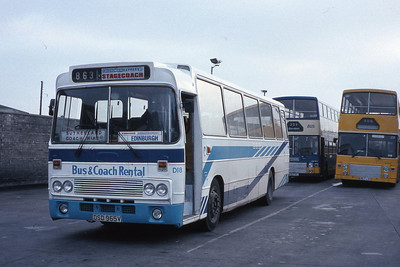 Bus and Coach Rental Dennistoun DSD965V ABS Oct 88
