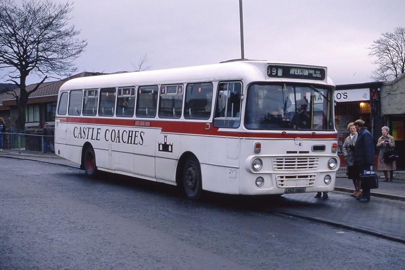 Castle Coaches Jamestown USO189S Alexandra Cross Jan 89