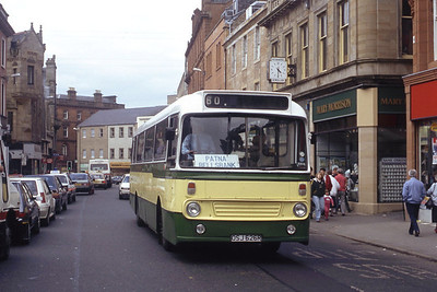 Bus and Coach Rental Dennistoun OSJ626R High St Ayr Jun 91