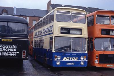 Boyce Clydebank NOC740R Depot Clydebank May 93