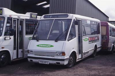 Coakley Motherwell F55RFS Depot Motherwell Apr 99