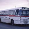 Castle Coaches Jamestown USO189S Balloch Bus Stance Jan 89