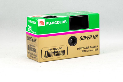 Fuji Quicksnap Disposable, 1990