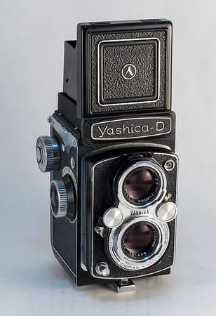 Yashica D, 1958