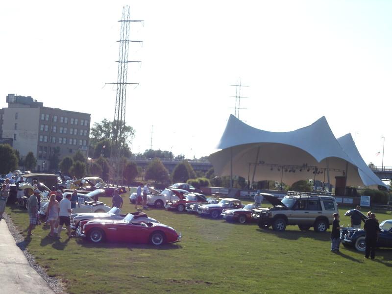 Cars on Field 2012 Car Show