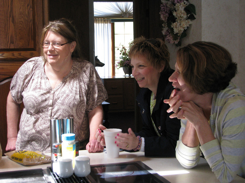 Lex Leonard, Cathy Pastron & Vicki Leimbach