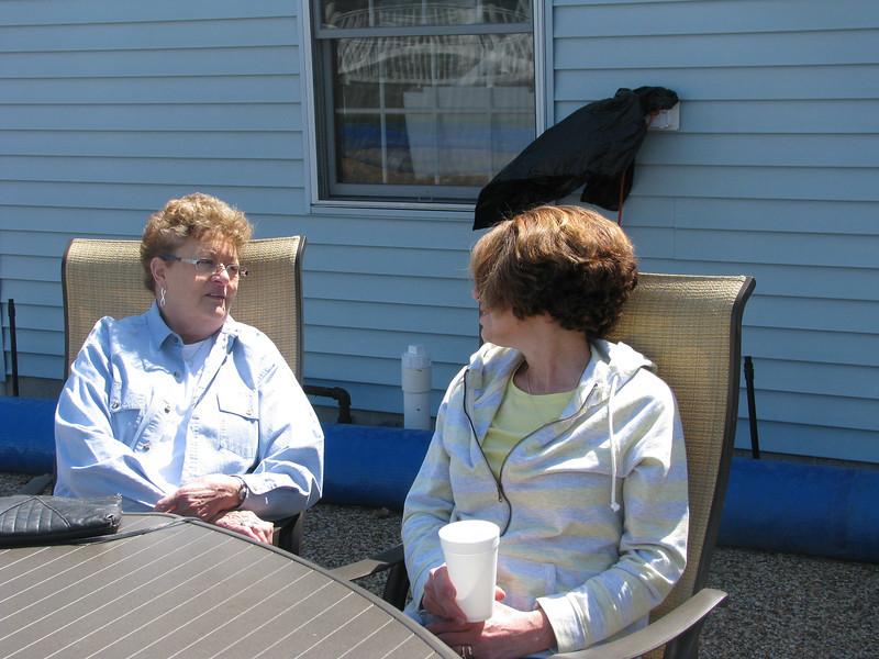 Vicki Leimbach & Barbara Ward