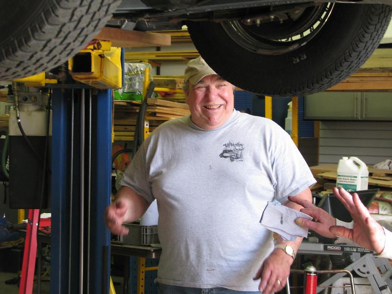 Dennis Pastron - always smiling!!