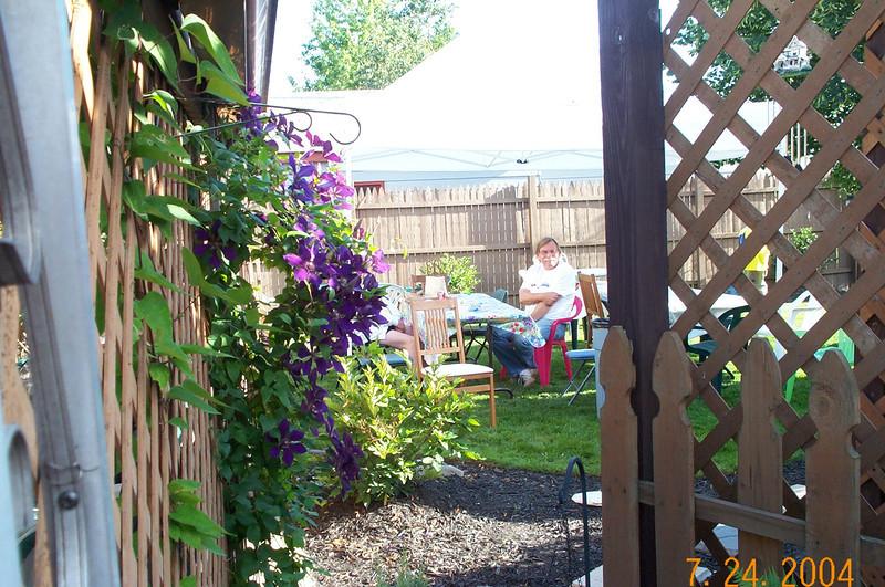 Summer Party 2004 Bob Leonard at Tom & Toni Sultzer's