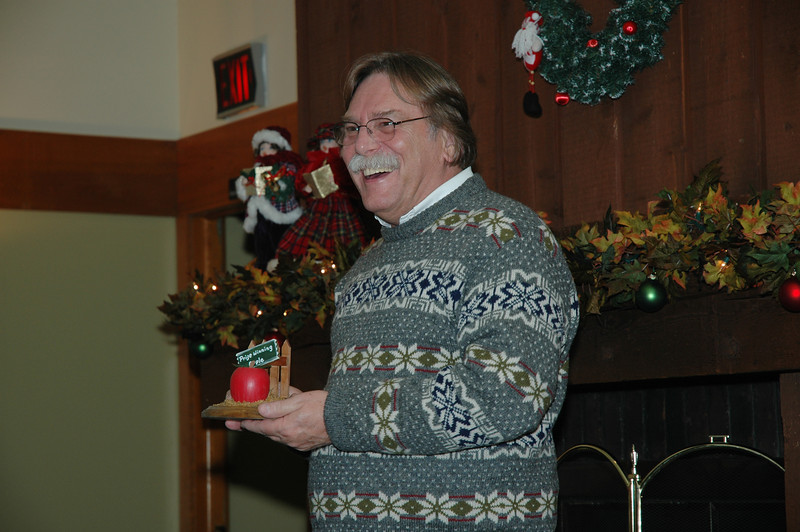 2005 Christmas Party - Bob Leonard & Road Apple Award