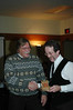 2005 Christmas Party - Bill Oliver & Bob Leonard
