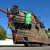 Every St Patrick's Day parade needs an pirate boat and this one was commandeered by the Anna Maria Island Privateers