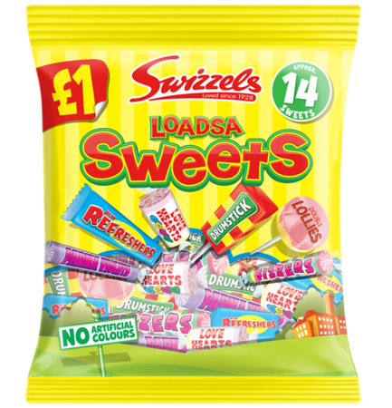 72321 Loadsa Sweets 135g 1 PMP Bag